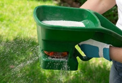 Lawn Fertilizer in Grapevine N-P-K